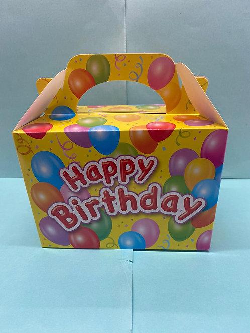 Yellow Happy Birthday Pick 'n' Mix Filled Box (400g)