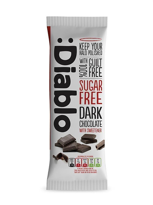 Diablo - Dark Chocolate Bar (Sugar Free)