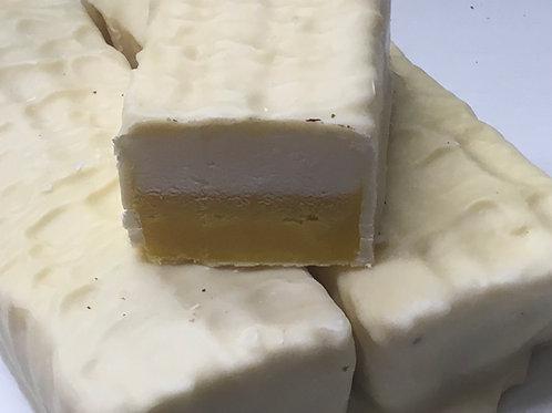 Handmade Lemon Meringue White Chocolate Fudge