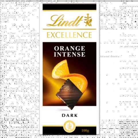 Lindt Excellence Orange Chocolate Bar 100g