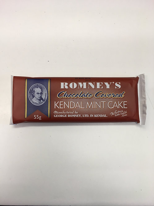 Romney's Chocolate Covered Kendal Mint Cake (55g)