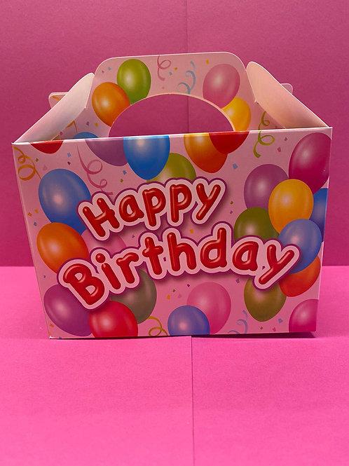 Pink Happy Birthday Pick 'n' Mix Filled Box (400g)