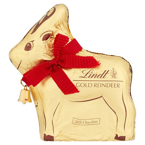 LINDT MILK CHOCOLATE REINDEER (100G)