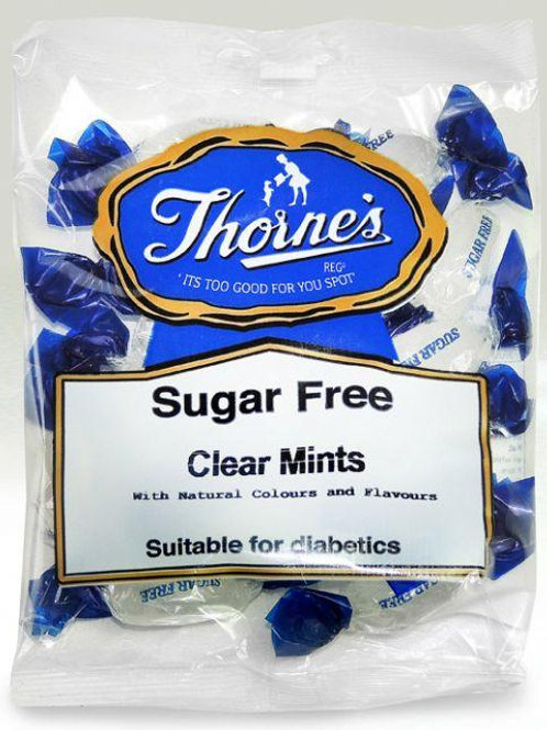 THORNE'S CLEAR MINTS - (SUGAR FREE)