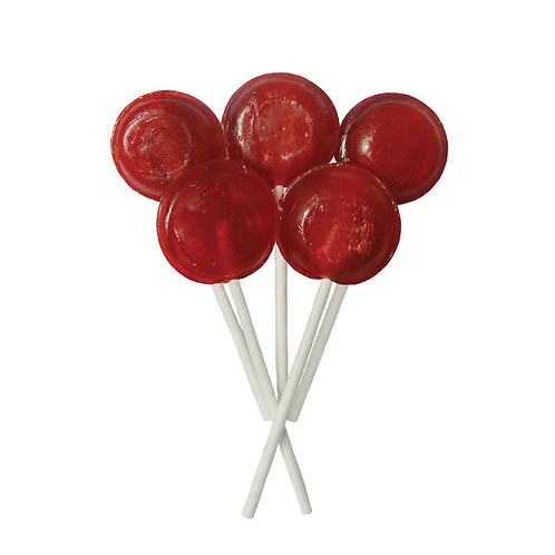 Cherry Flavoured Lollies (5)