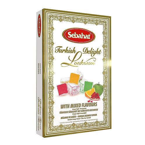 SEBAHAT TURKISH DELIGHT (MIXED FLAVOURS) (250G)
