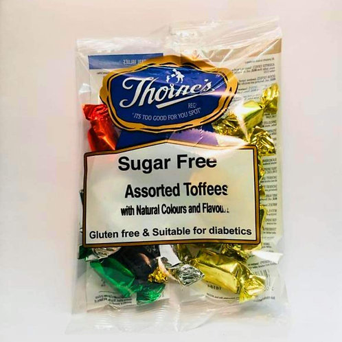THORNE'S ASSORTED TOFFEE'S (SUGAR FREE)