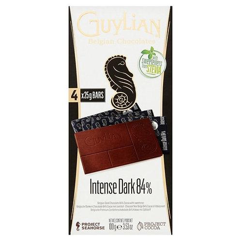GUYLIAN NO ADDED SUGAR - DARK CHOCOLATE BAR (100G)