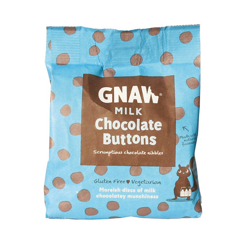 GNAW - MILK CHOCOLATE  BUTTONS