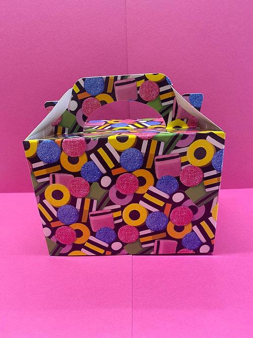 Liquorice All sorts Design Pick 'n' Mix Filled Box (400g)