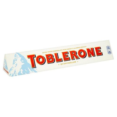WHITE CHOCOLATE TOBLERONE (360G)