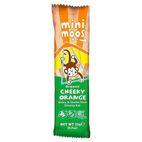 MINI MOOS CHEEKY ORANGE CHOCCY BAR