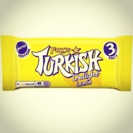 Fry's Lemon Turkish delight (3 Pack) Limited Edition
