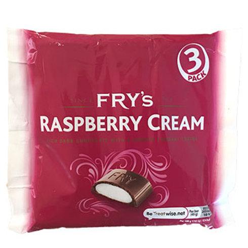 FRY'S RASPBERRY CREAMS (3 PACK)