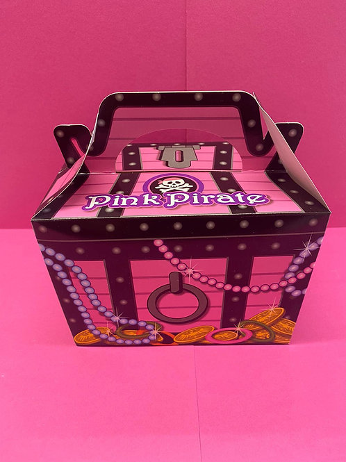 Pink Pirate Pick 'n' Mix Filled Box (400g)