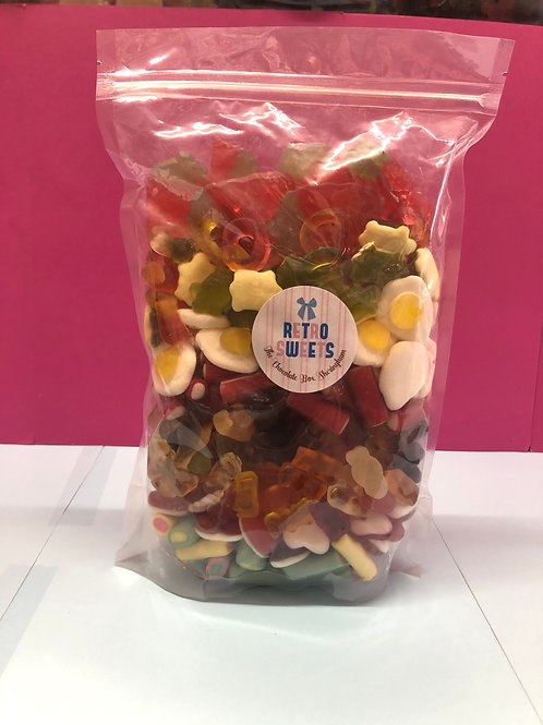 1KG HARIBO/JELLY PICK 'N' MIX POUCH BAG