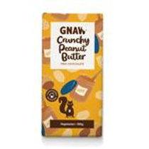 GNAW - CRUNCHY PEANUT BUTTER MILK CHOCOLATE  BAR