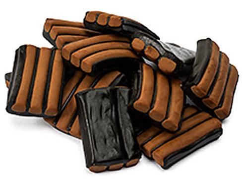 Chocolate Liquorice Stripes