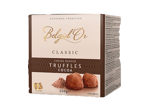 BELGID'OR COCOA DUSTED TRUFFLES (200G)