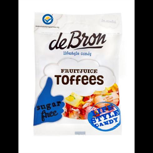 DE BRON FRUIT JUICE TOFFEE'S (SUGAR FREE)