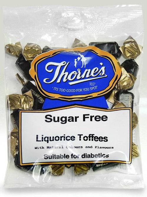 THORNE'S LIQUORICE TOFFEES (SUGAR FREE)