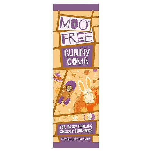 MOO FREE - BUNNYCOMB CHOCOLATE BAR (20G)