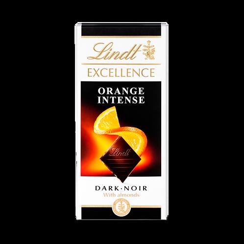 LINDT EXCELLENCE - DARK ORANGE CHOCOLATE BAR