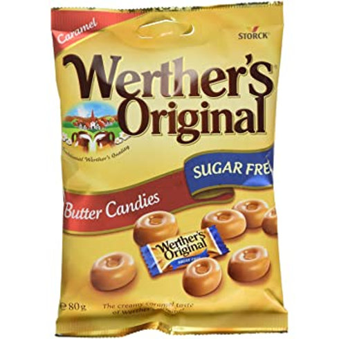 WERTHER'S ORIGINAL - BUTTER CANDIES (SUGAR FREE)
