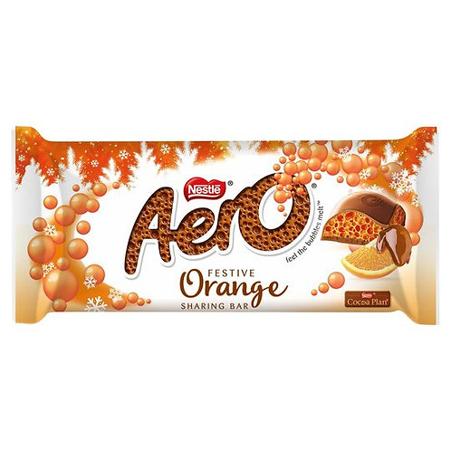 AERO FESTIVE ORANGE CHOCOLATE SHARING BAR