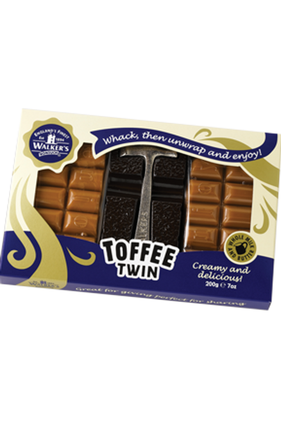 WALKERS TOFFEE TWIN PACK (200G)