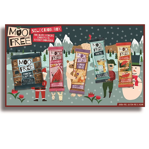 MOO FREE SELECTION BOX (DAIRY FREE & VEGAN)