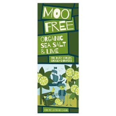 MOO FREE SEA SALT AND LIME CHOCOLATE BAR (80G)
