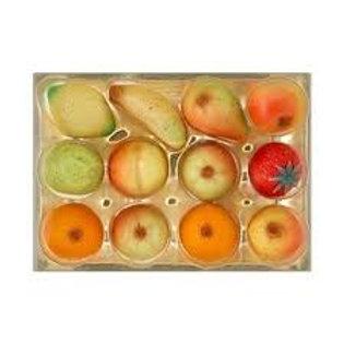 MARZIPAN FRUITS (170G TRAY)