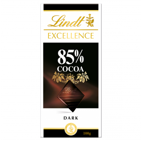 Lindt Excellence 85% Chocolate Bar 100g