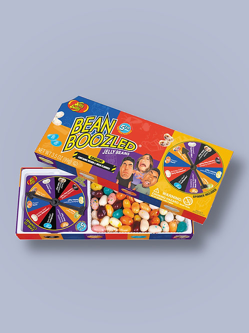 BEAN BOOZLED 5th EDITION. (LARGE BOX WITH SPINNER)
