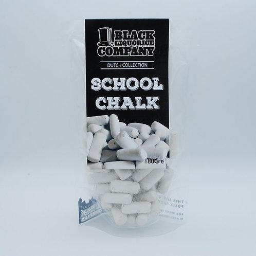 BLACK LIQUORICE COMPANY - SCHOOL CHALK (LIQUORICE IN A MINTY SHELL)