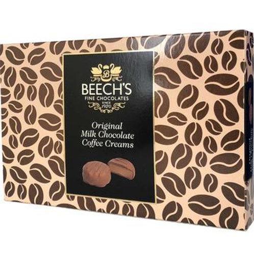 Beech's Milk Chocolate Coffee Creams (150g Box)