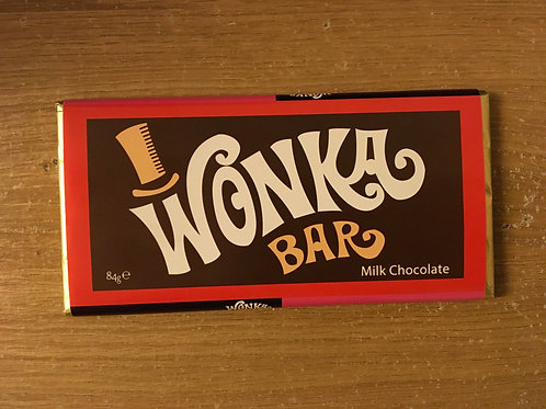 WONKA CHOCOLATE BAR (84G)