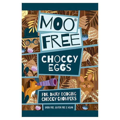 MOO FREE CHOCCY EGGS (80G BAG)