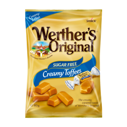 WERTHER'S ORIGINAL - CREAMY TOFFEE'S (SUGAR FREE)