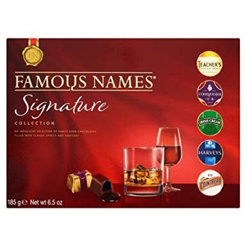 Famous Names Signature Collection (185g Box)