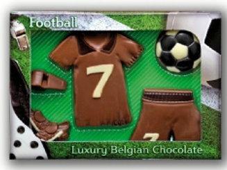 Chocolate Football Set