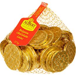 UK MILK CHOCOLATE COINS (NET)