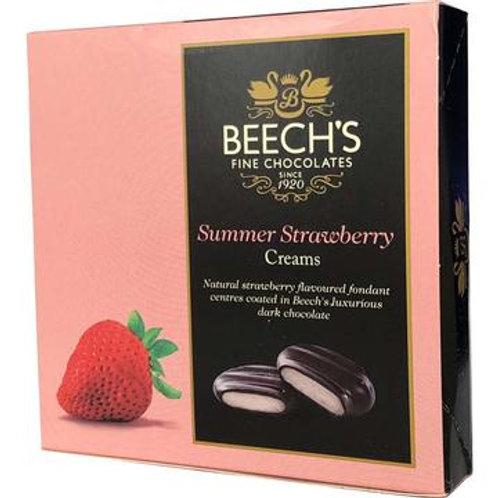 Beech's Summer Strawberry Creams (90g Box)