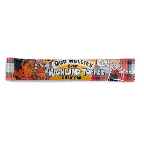 OOR WULLIE'S HIGHLAND TOFFEE BAR