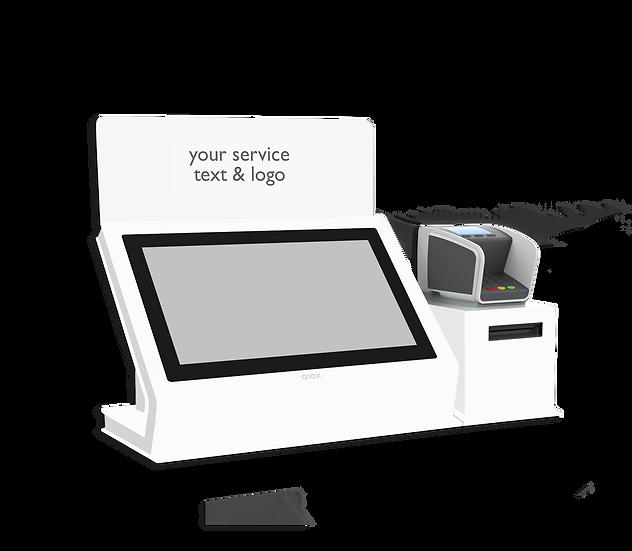 """QIOX 15"""" Desk & Pin met Printer box"""