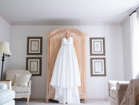 How to Care for Your Wedding Dress Before & After the Big Day