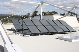 MCAS Miramar Solar Heating