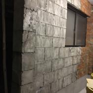 ガレージ壁ブロック.JPG