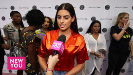 Nazanin Kavari interviewed by New You Media at Beautycon 2018